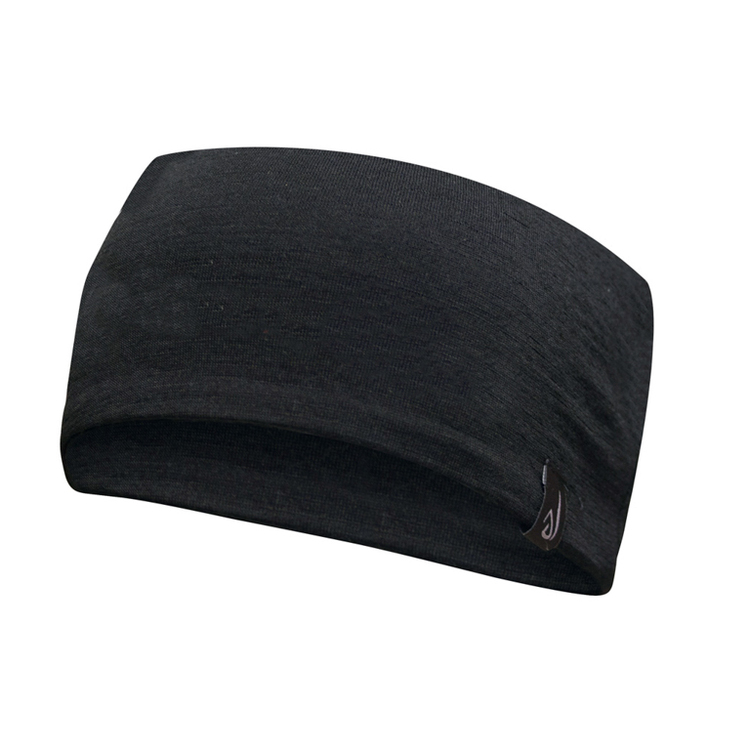 Ivanhoe Pannband Underwool Headband Black