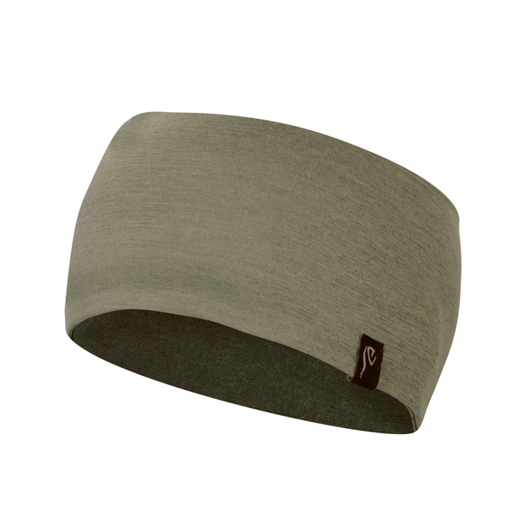 Ivanhoe Pannband Underwool Headband Lichen Green