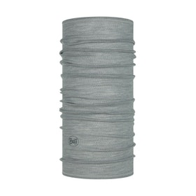Buff Tubhalsduk Lightweight Merino Wool Solid Light Grey