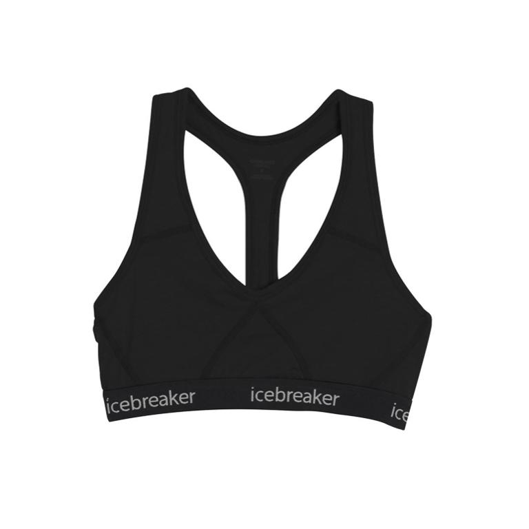 Icebreaker BH Sprite Racerback Bra -Black