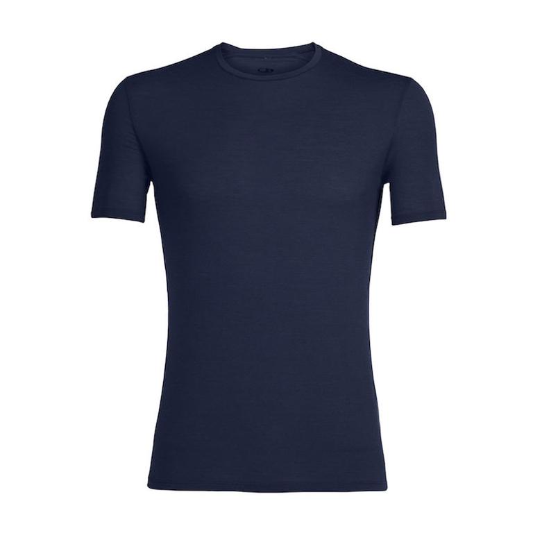 Icebreaker T-shirt Anatomica SS Crewe M -Admiral/Black