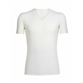 Icebreaker T-shirt Anatomica SS V Snow
