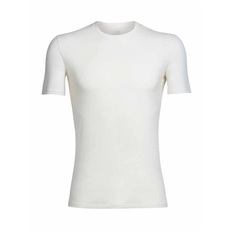 Icebreaker T-shirt Anatomica SS Crewe M Snow
