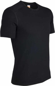 Icebreaker t-shirt Mens Oasis SS Crewe Black
