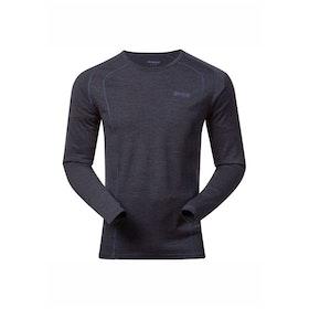 Bergans Underställströja Fjellrapp Shirt Night Blue Melange