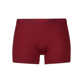Bergans Trosor Fjellrapp Lady Boxer Burgundy/Red