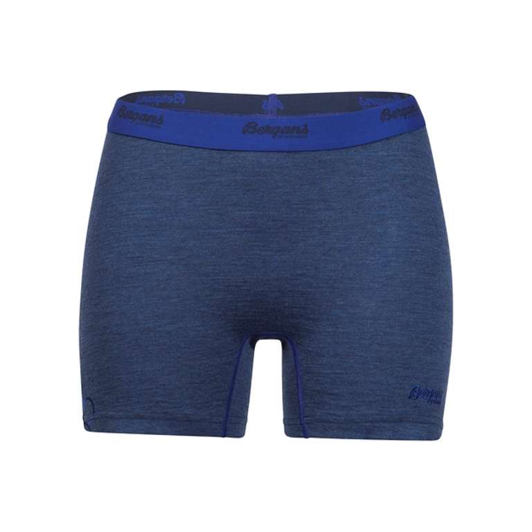 Bergans of Norway Trosor Cecilie Wool Boxer Navy melange