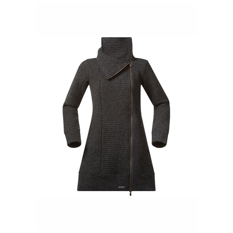 Bergans Kappa Kariel Lady Coat Solid Charcoal
