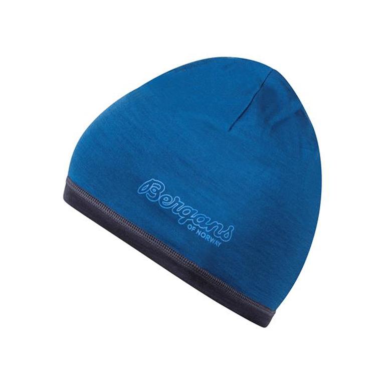 Bergans Mössa Tind Wool Beanie Ocean/Night Blue