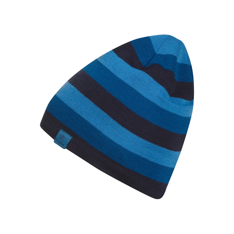Bergans Mössa Tine Beanie Navy/Ocean/Light Winter Sky