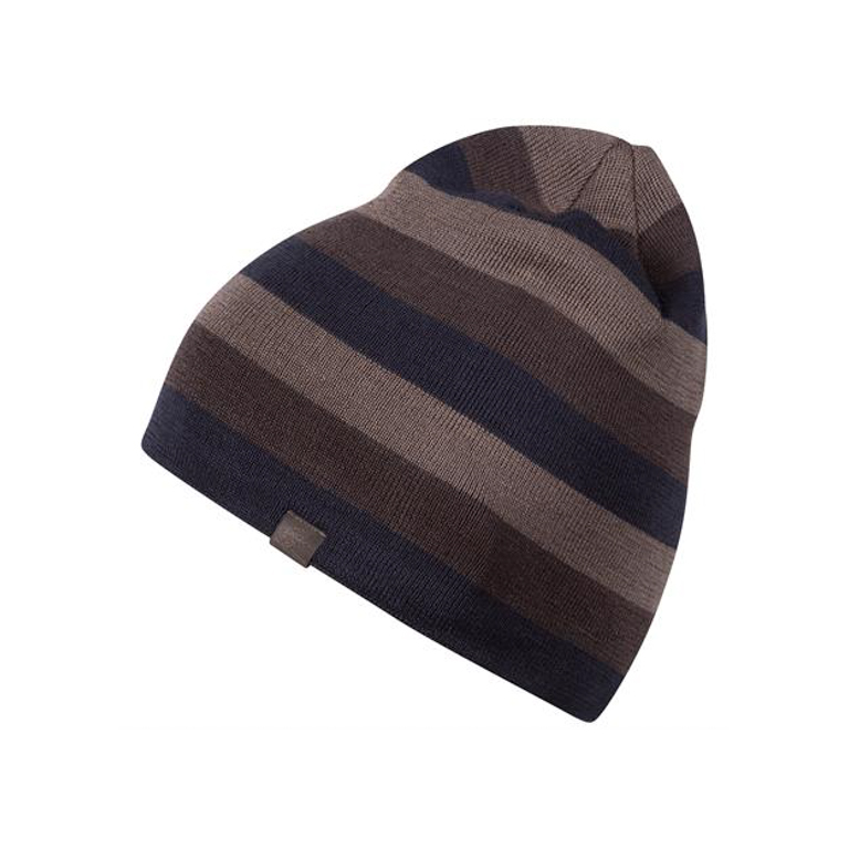 Bergans Mössa Tine Beanie Night Blue/Cocoa/Light Cocoa