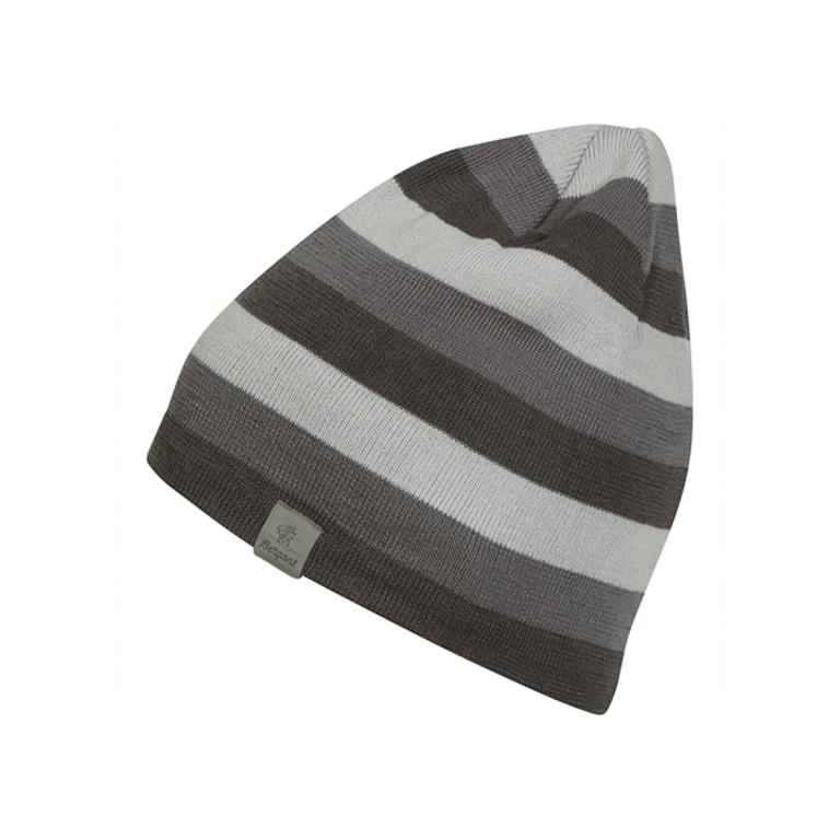 Bergans Mössa Tine Beanie Solid Charcoal/Solid Grey/Aluminium