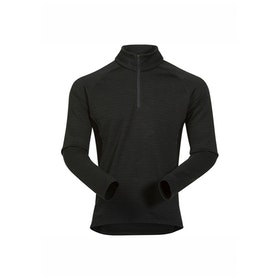 Bergans Tröja Snöull Half Zip Solid Charcoal/Black