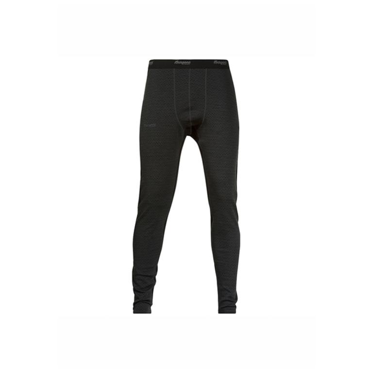 Bergans Långkalsong Snöull Tights Solid Charcoal/Black