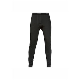 Bergans Långkalsong Snöull Tights Solid Charcoal/Black
