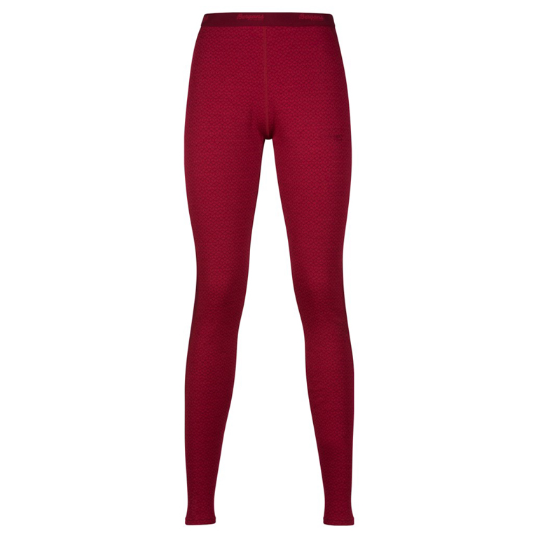 Bergans Leggings Snöull Lady Tights Red/Burgundy