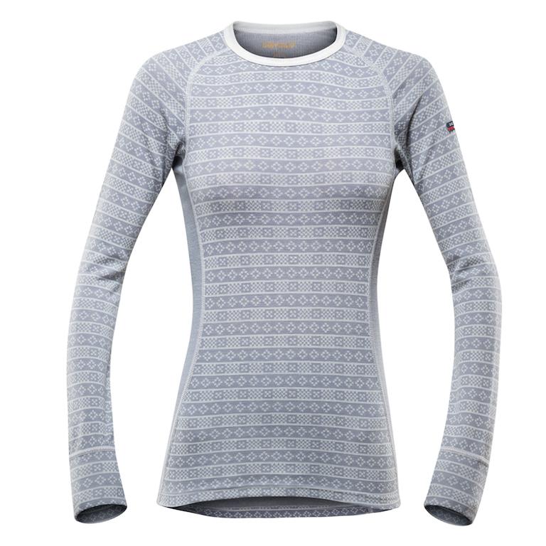 Devold Underställströja Alnes Woman Shirt Grey
