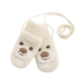 Devold Barnvantar Bear Baby Mitten -Offwhite