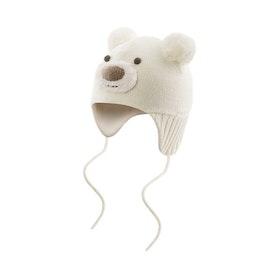 Devold Barnmössa Bear Baby Beanie -Offwhite