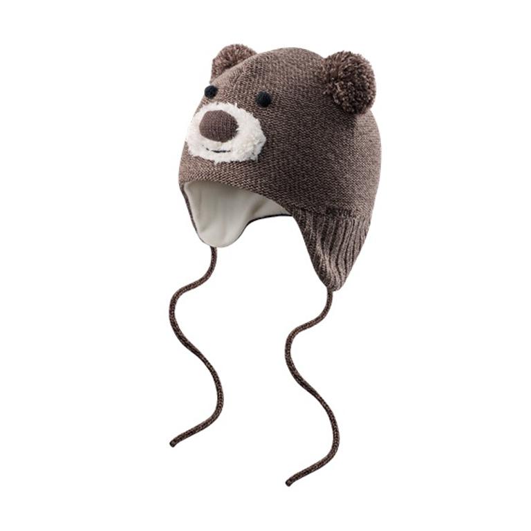 Devold Barnmössa Bear Baby Beanie -Brown