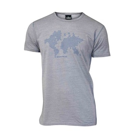 Ivanhoe of Sweden T-shirt Underwool Agaton Earth Grey Marl