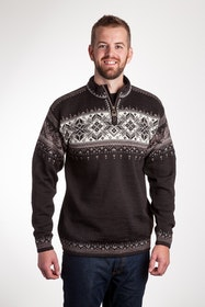 Dale of Norway Blyfjell Unisex Sweater Coffee Tröja