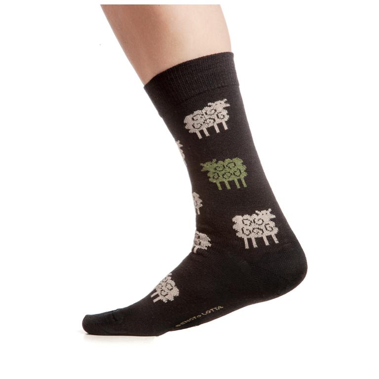 Cai Strumpor Sheep Black