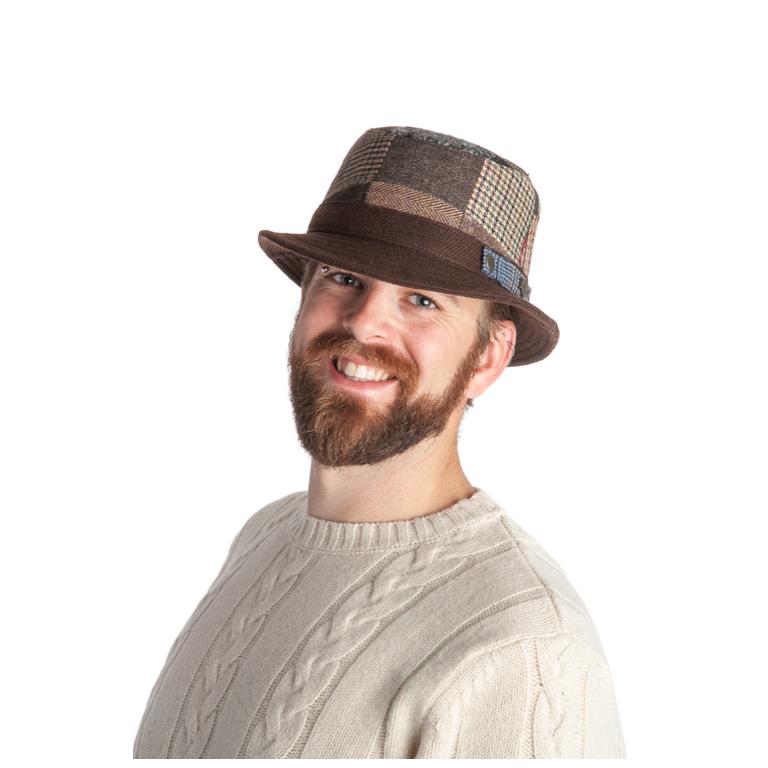 MJM - M.J. Michaelsen Hatt Duke Patch Brown