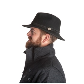 MJM - M.J. Michaelsen Hatt Hunter Black