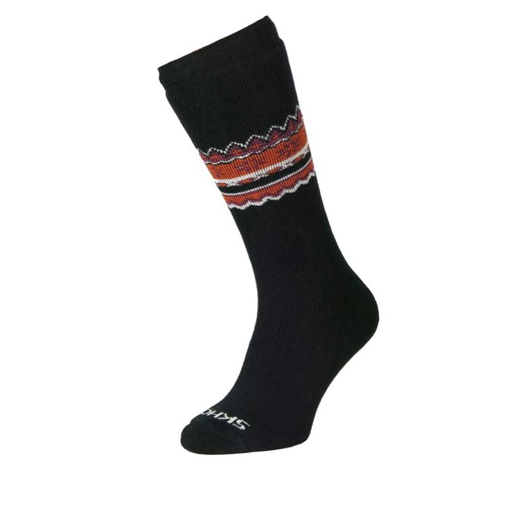 Skhoop Nordic Sock Black Strumpa