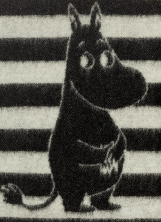 Klippan Yllefabrik Moomin Black Barnfilt