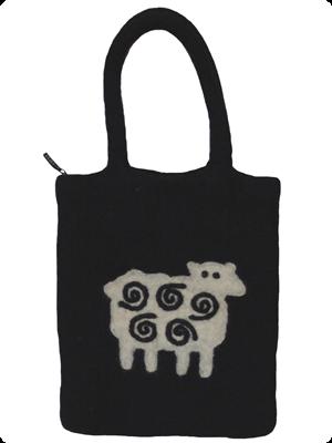 Klippan Yllefabrik Black Sheep Väska