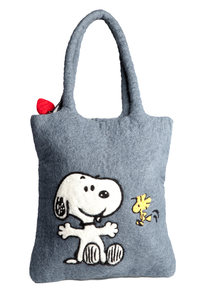 Klippan Yllefabrik Väska Snoopy