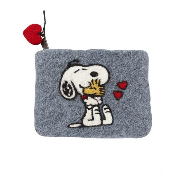 Klippan Yllefabrik Börs Snoopy Hug
