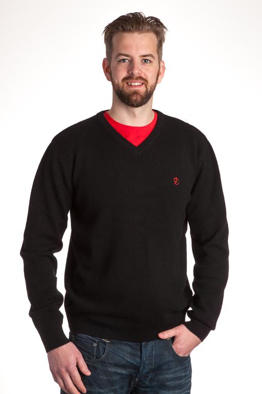 Fjällräven Shepparton Sweater Black Tröja