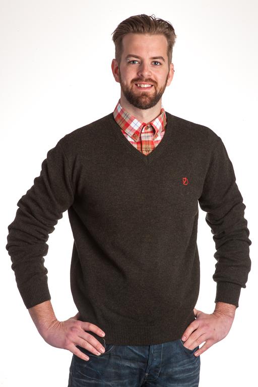 Fjällräven Shepparton Sweater Dark Olive Tröja