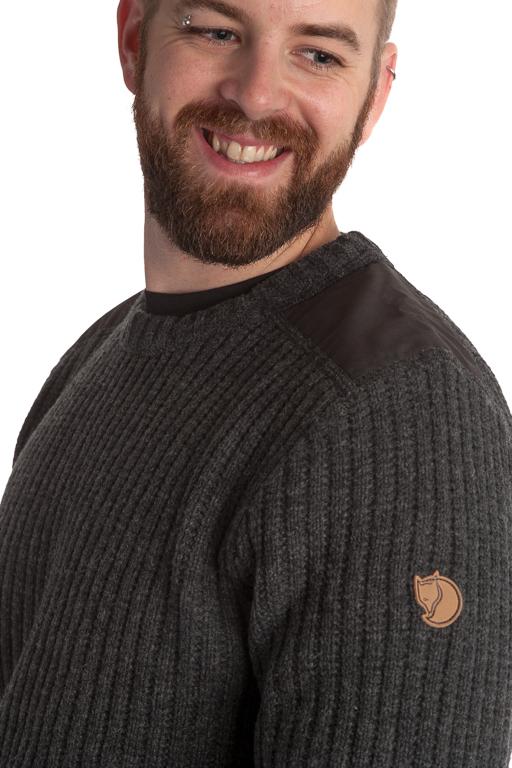 Fjällräven Sarek Knit Sweater Dark Grey Tröja