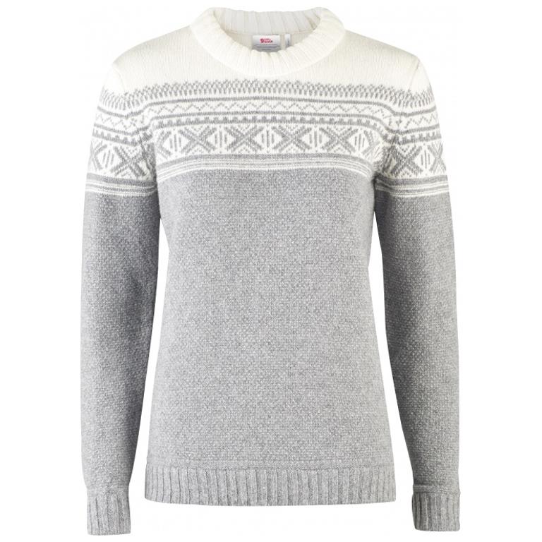 Fjällräven Tröja Övik Scandinavian Sweater W Grey