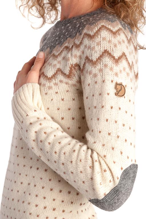 Fjällräven Övik Knit Sweater W Sand Tröja