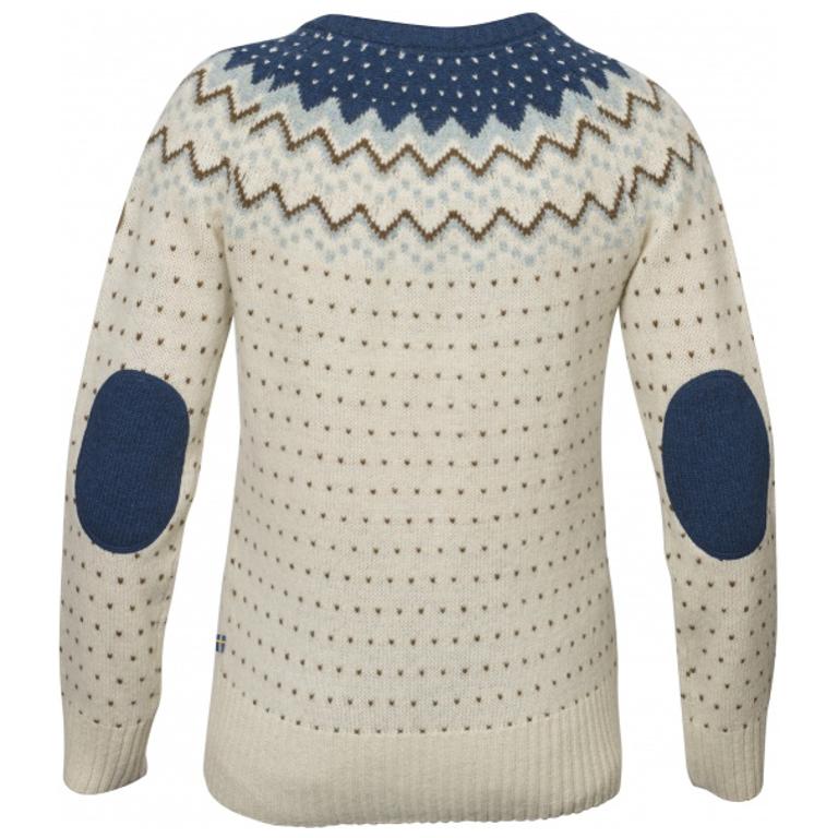 Fjällräven Tröja Övik Knit Sweater W Glacier Green