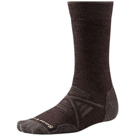 Smartwool Vandringstrumpor PhD Outdoor Medium Crew -Chestnut