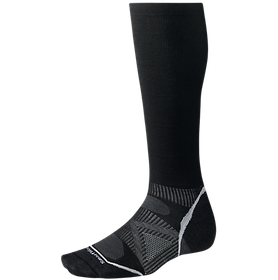 Smartwool skidstrumpor PhD Ski Graduated Compression Ultra Light Black