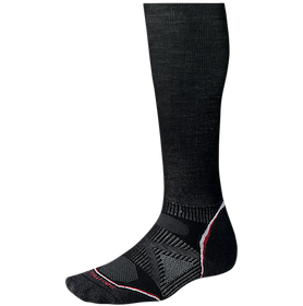 Smartwool skidstrumpor Phd SkiGraduated Compression Light Black