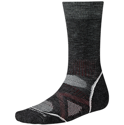 Smartwool strumpor PhD Outdoor Medium Crew Charcoal