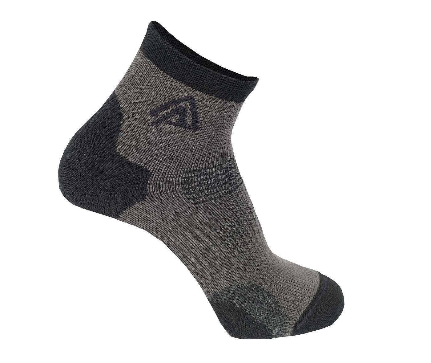 Aclima AS Strumpa Running Socks Jet Black