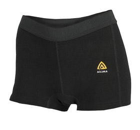 Aclima AS Trosor Warmwool Boxershorts Woman Jet Black