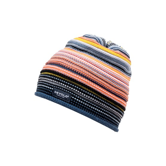 Devold of Norway Mössa Multi Coloured Kid Beanie -Night