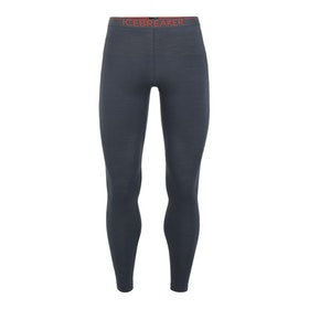 Icebreaker Långkalsonger 150 Zone Leggings Monsoon/Chili Red