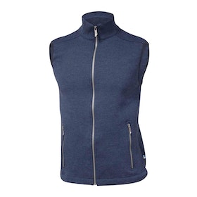 Ivanhoe of Sweden Väst Assar Vest Steel Blue