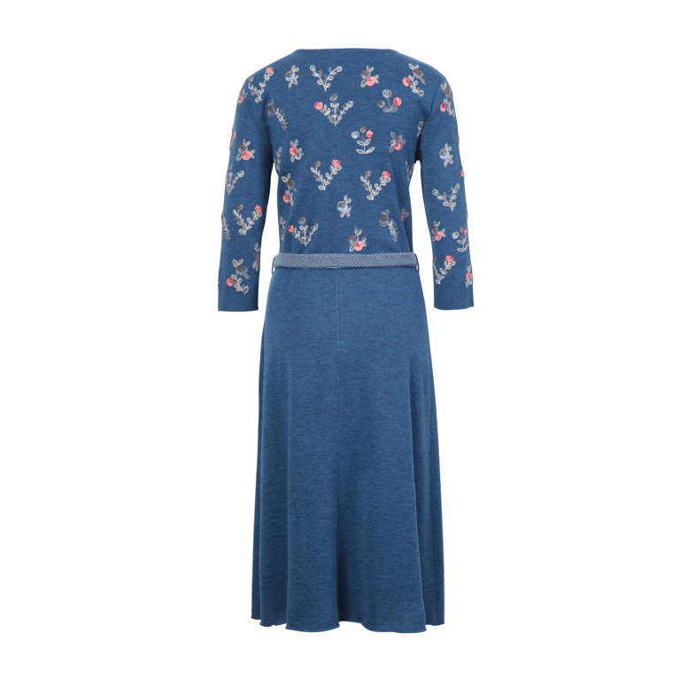 IVKO Woman Klänning Dress Floral Embroidery Adria